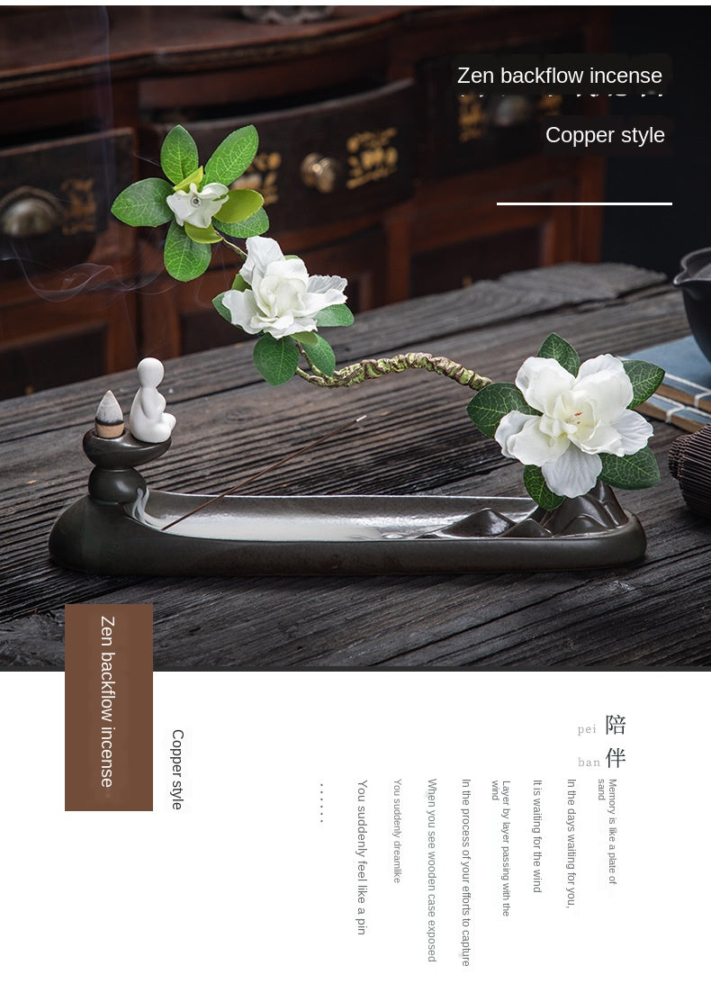 Zen Backflow Incense Burner