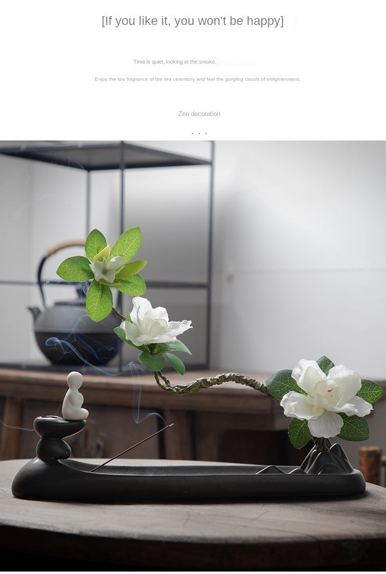 Zen Backflow Incense Burner - Shanghai Stock