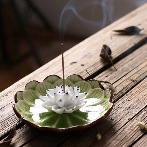 Lotus Stick Incense Burner Holder - Shanghai Stock