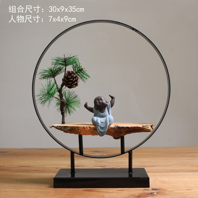 Large Arch Buddha Backflow Incense Burner - Various Styles - Shanghai Stock