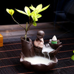 Little Monk Waterfall Backflow Incense Burner - Shanghai Stock