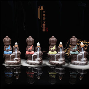The Little Monk Backflow Incense Burner