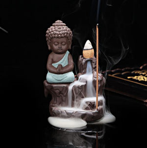 EXPRESS POST - Newcastle Stock - The Little Monk Backflow Incense Burner