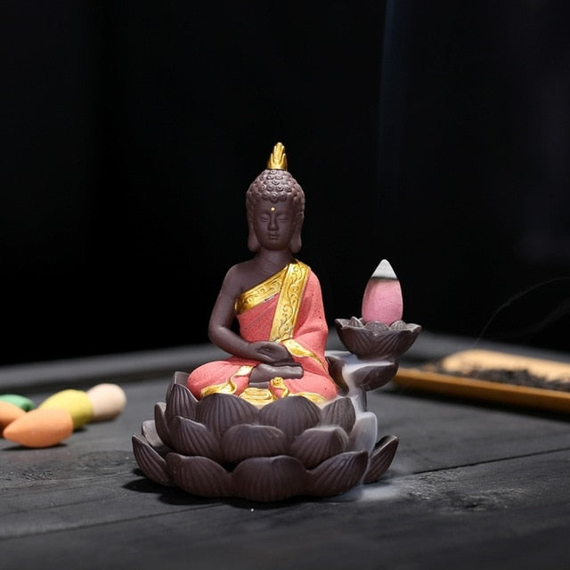 EXPRESS POST - Newcastle Stock - Golden Buddha Backflow Incense Burner