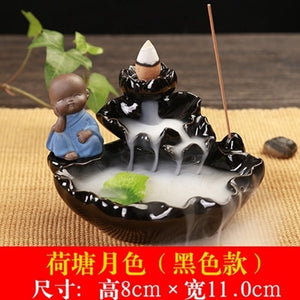 Waterfall Backflow Incense Burner - Shanghai Stock