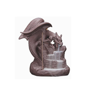 Dragon & The Castle Backflow Incense Burner