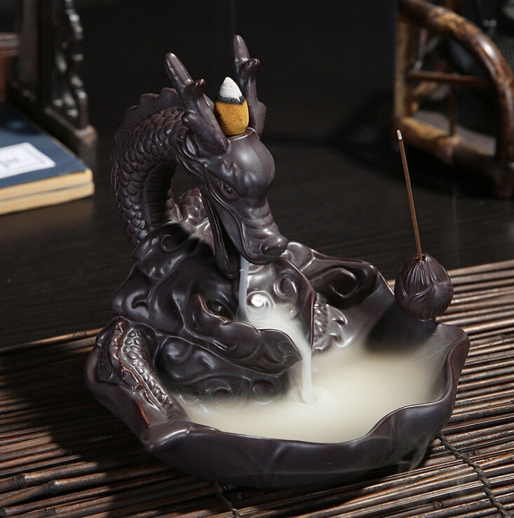 Dragon Smoke Backflow Incense Burner - Shanghai Stock