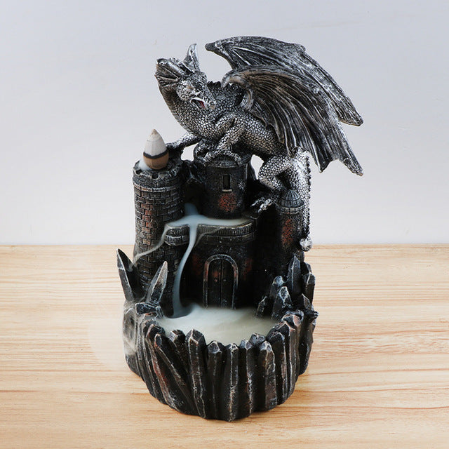 Goddess Tower or Dragon Backflow Incense Burner - Shanghai Stock