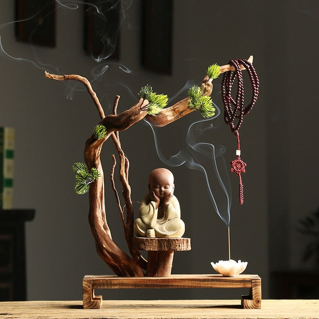 Monk Censer Stick Incense Burner - Shanghai Stock