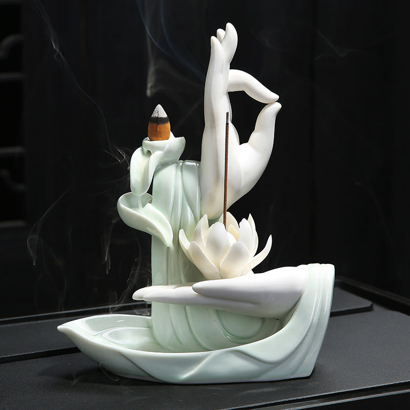 Buddha's Hand Backflow Incense Burner - Shanghai Stock