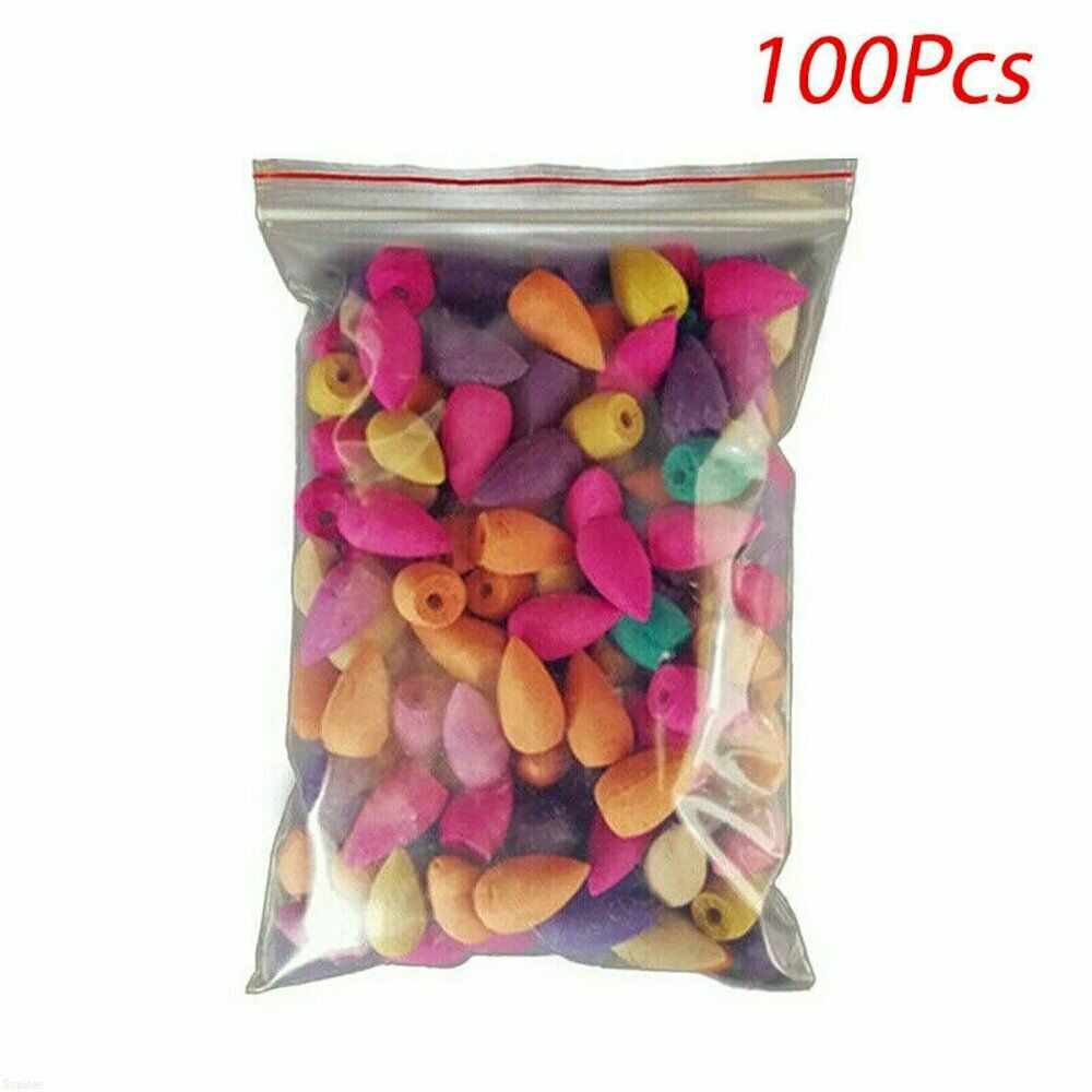 100 pcs Aromatic Cones for Backflow Incense Burner