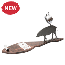 Load image into Gallery viewer, Cebo Ham + Slicing Knife + Jamon, Granite Base Stand (Handmade)