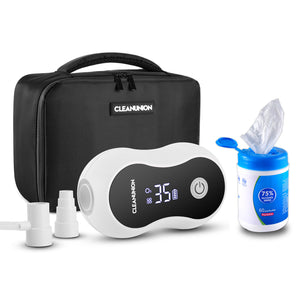 CLEANUNION™ CPAP Cleaner And Sanitiser & Alcohol Wipes set B