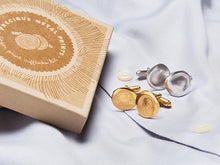 Load image into Gallery viewer, <span>Custom Gold</span> Fingerprint Cufflinks
