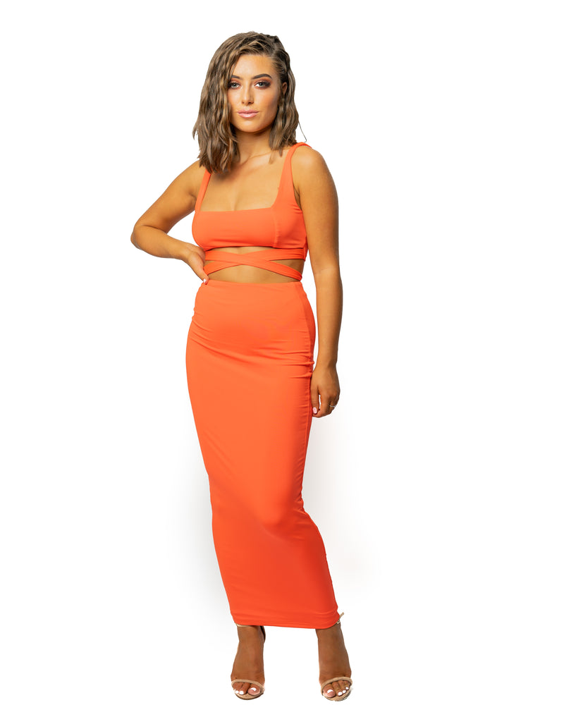 Sunset Orange Co-Ord
