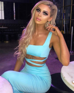 Jade Sky Blue Co-Ord