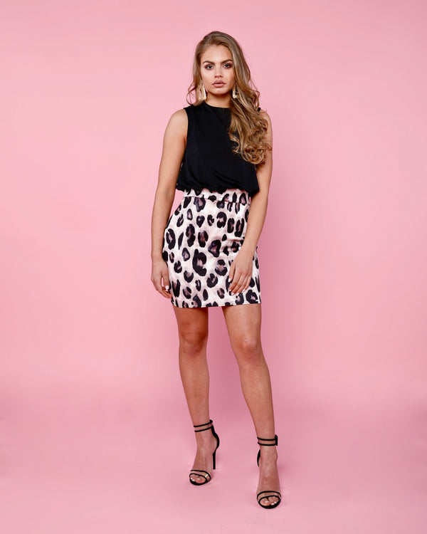 Chloe Animal Print Dress