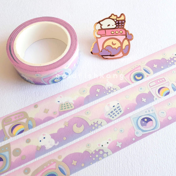 Laundrocats Washi Tape: Dawn - Goldfishkang