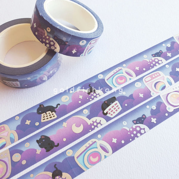 Laundrocats Washi Tape: Dusk - Goldfishkang