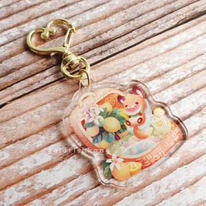Fruit Gardens Keychain: Lemon - Goldfishkang