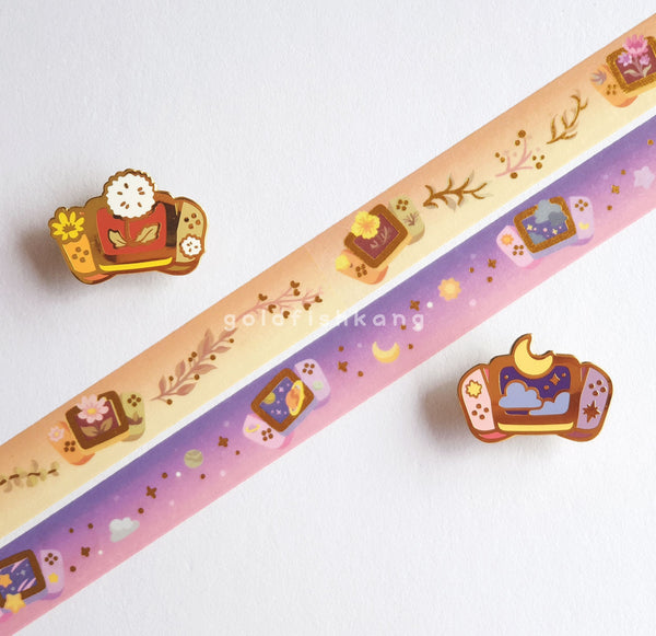 New Game+ Washi Tape: Meadow - Goldfishkang