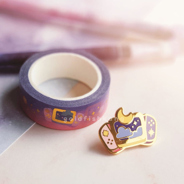 New Game+ Washi Tape: Cosmos - Goldfishkang