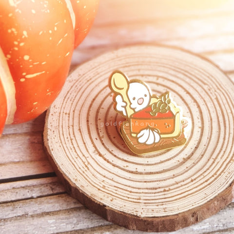 Spooky Teatime Pin: Phantom Pie - Goldfishkang