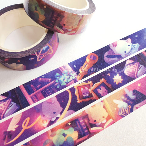 Reynard Manor Washi Tape: Librarium - Goldfishkang
