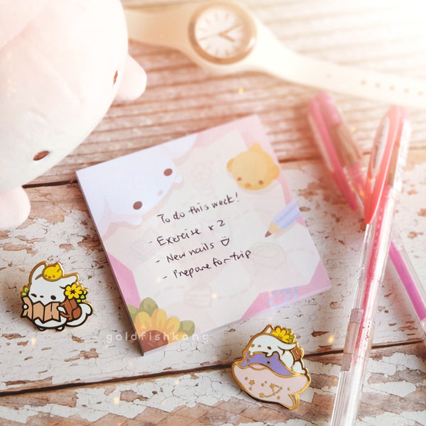 Little Adventurer Sticky Notes - Goldfishkang