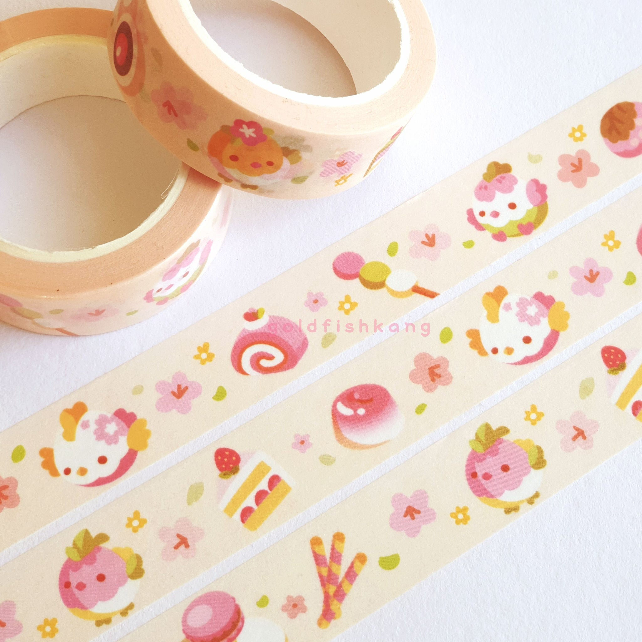 Spring Chickies Washi Tape - Goldfishkang