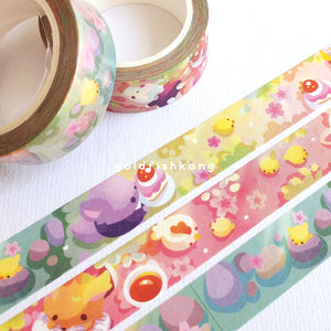Reynard Manor Washi Tape: Garden - Goldfishkang