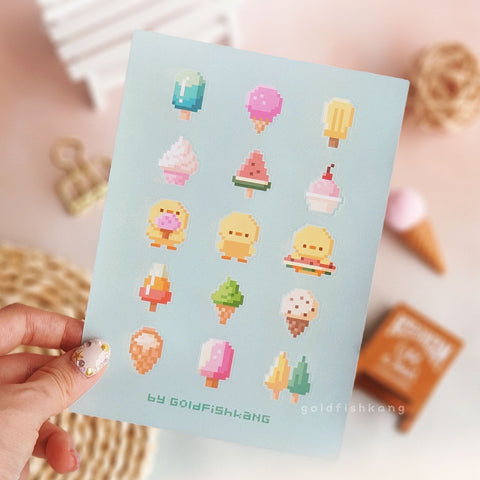 Wishing Machine Sticker Sheet: Gelato Dreams