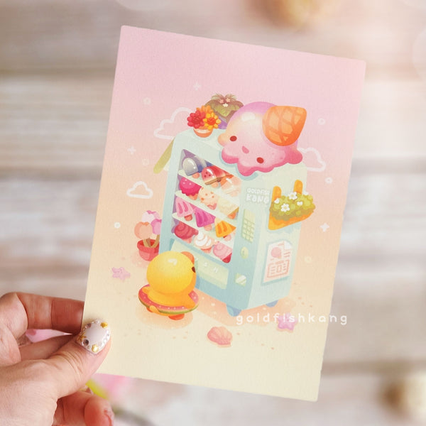 Wishing Machine Print: Gelato Dreams