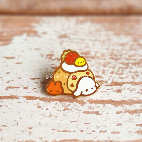 LATD Chapter 2 Enamel Pin: Berry Bunny Roll