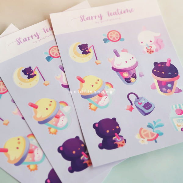 LATD Chapter 2 Sticker Sheet: Starry Teatime