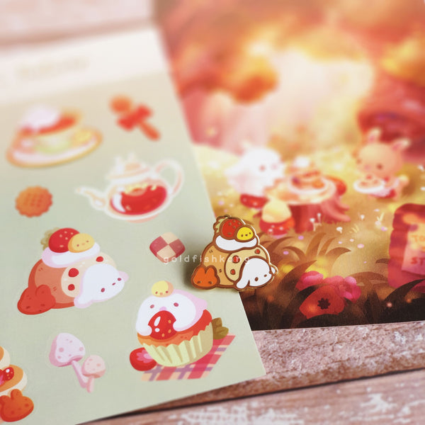 LATD Chapter 2 Sticker Sheet: Forest Teatime