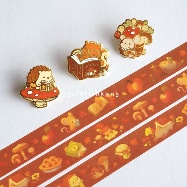 Tomes and Toadstools Washi Tape