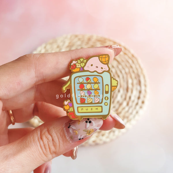 Wishing Machine Pin: Gelato Dreams