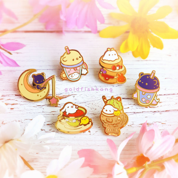 LATD Chapter 2 Enamel Pin: Afternoon Tea