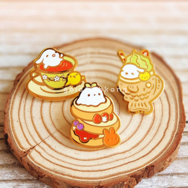 LATD Chapter 2 Enamel Pin: Matcha Taiyaki