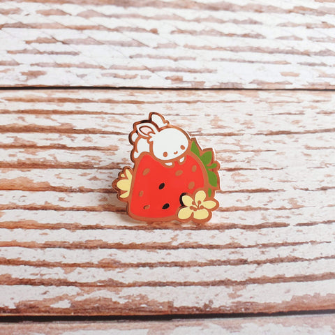 Fruit Gardens Pin: Strawberry - Goldfishkang