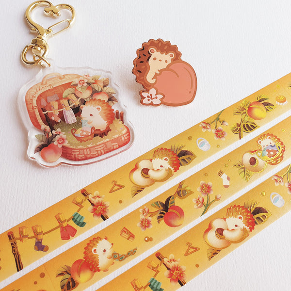 Fruit Gardens Pin: Peach - Goldfishkang