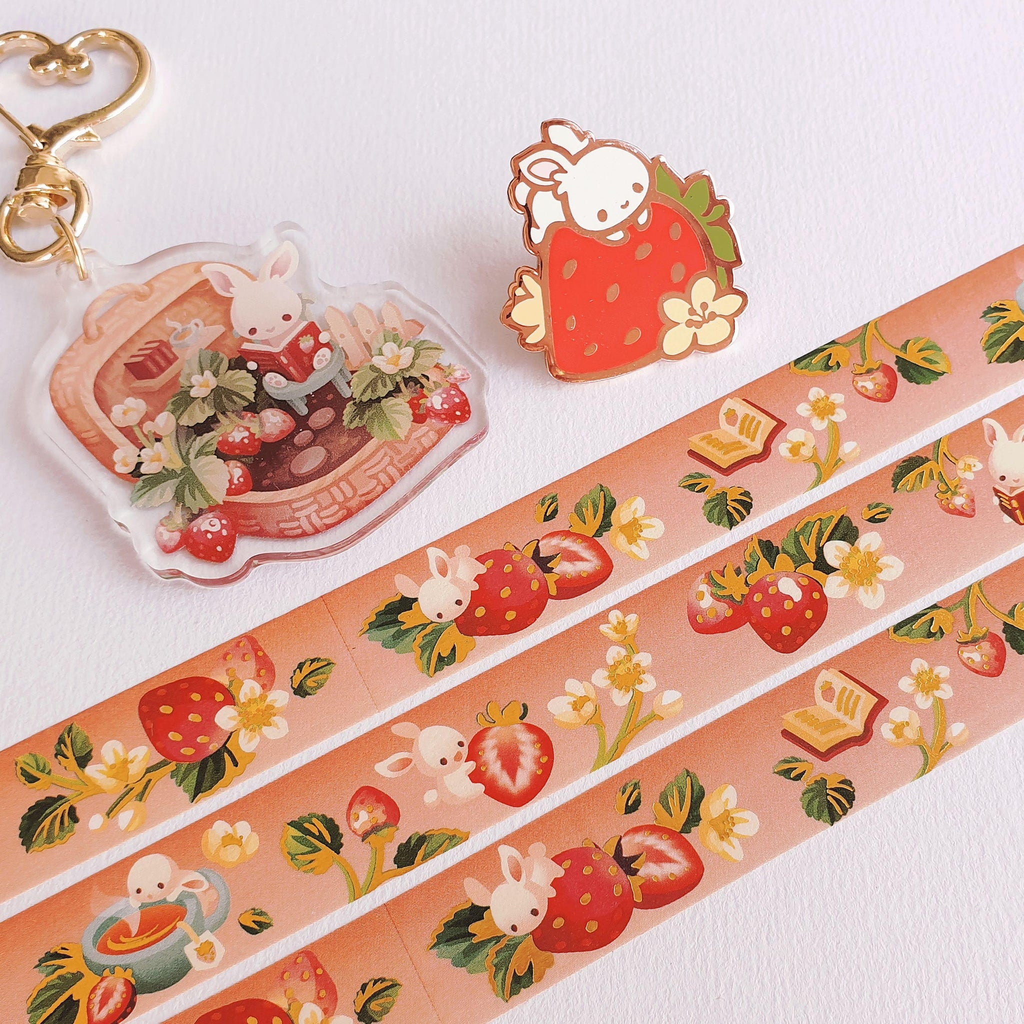 Fruit Gardens Value Set: Strawberry - Goldfishkang