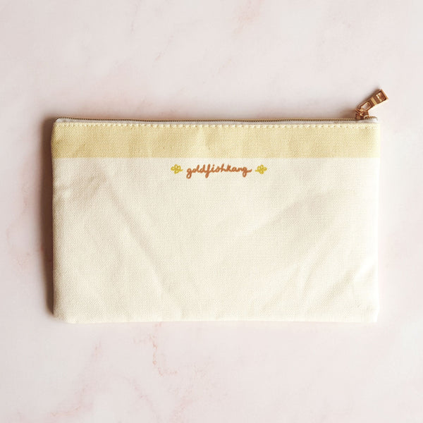Good Eats Zip Pouch - Goldfishkang