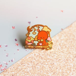 Windowsill Pals Enamel Pin: Plant Parent