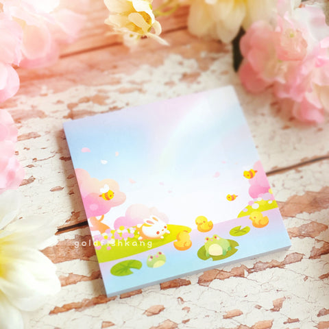 Tiny Earth Sticky Notes: Spring