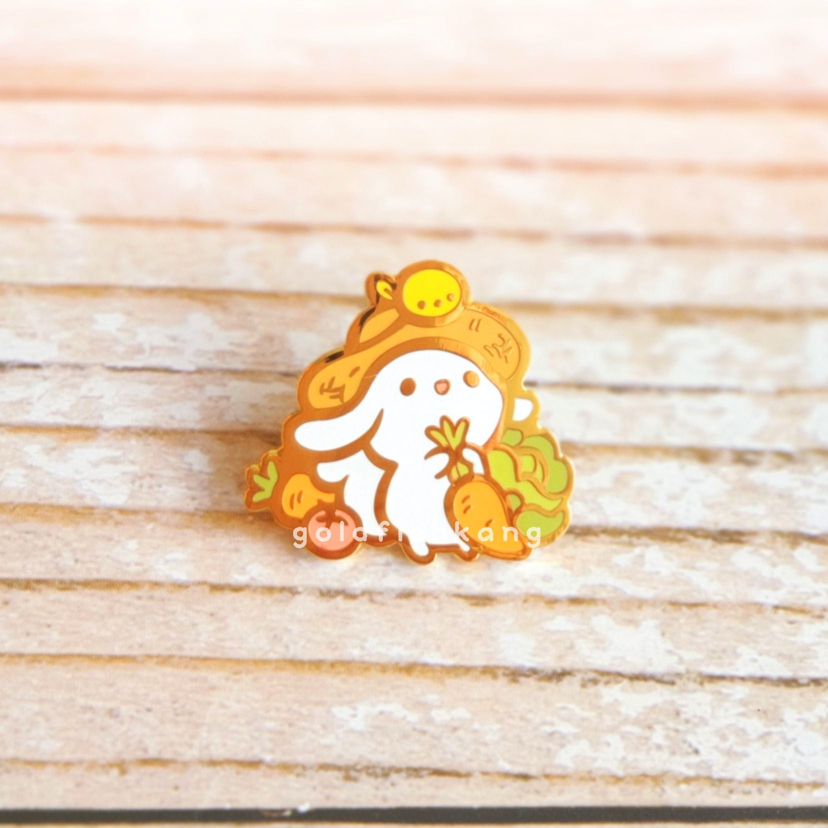 LATD Chapter 4 Enamel Pin: Farmer's Little Helper