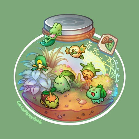 Poketerrariums: Grass - Goldfishkang