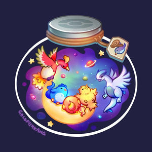 Poketerrariums: Legendary Birds - Goldfishkang