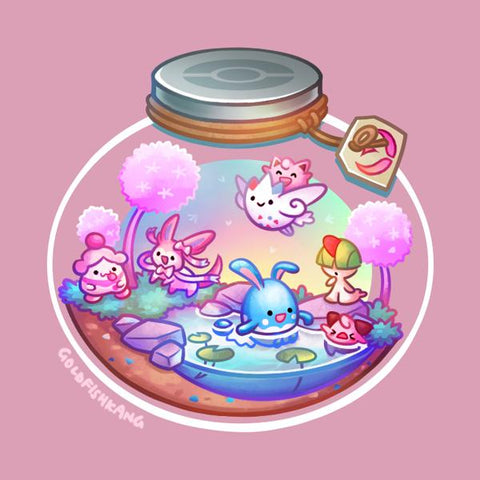 Poketerrariums: Fairy - Goldfishkang